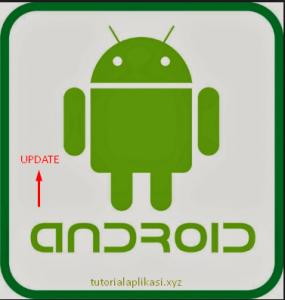 cara upgrade versi android