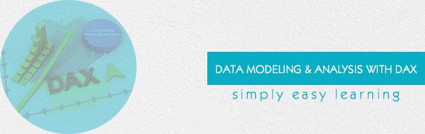 Modelado de datos con el tutorial de DAX